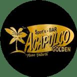 Logo for Acapulco Golden Sport's Bar in Nuevo Vallarta