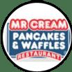 Logo for Mr Cream Pancake and Waffles in Nuevo Vallarta