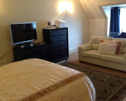Double in 2 bedroom self catering accommodation