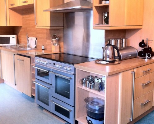 Kitchen in 4 Bedroom Rental House