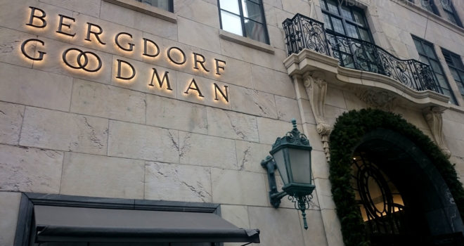 Bergdorf Goodman  5th Avenue New York  department store