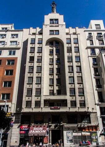 Gran Vía 60 (1930-1944), de Emilio Ortiz de Villajos y Casto Fernández Shaw e Iturralde