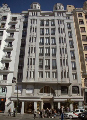 Gran Via nª 42 (1923-1926), de Pedro Mathet