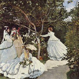 Mulher no jardin Claude_Monet