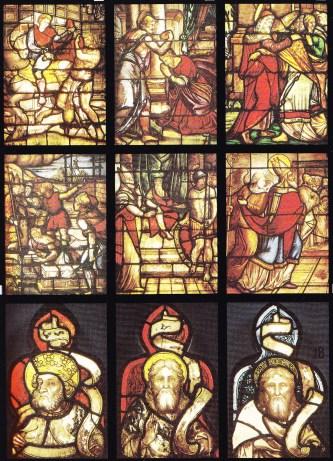 Vitral San Martín de Tours