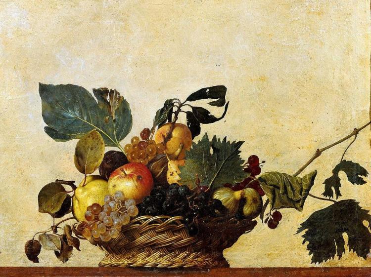Canasta de fruta de Caravaggio - visitas guiadas milan