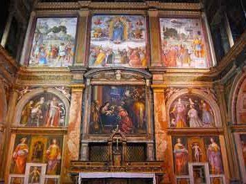 Tabique divisorio iglesia de San Mauricio