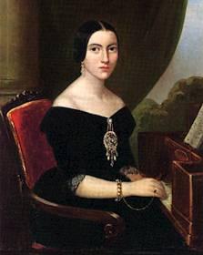 Giuseppe Verdi en Busseto - Retrato de Giuseppina Strepponi