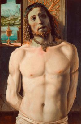 Cristo en la columna - Bramante - como visitar la Pinacoteca de Brera de Milán