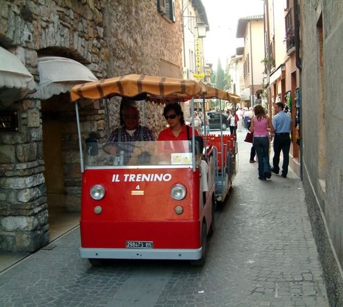 Tourist Train Sirmione