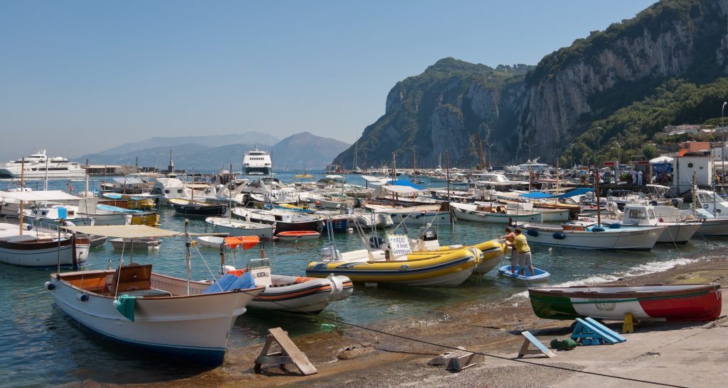 Marina Grande to Blue Grotto