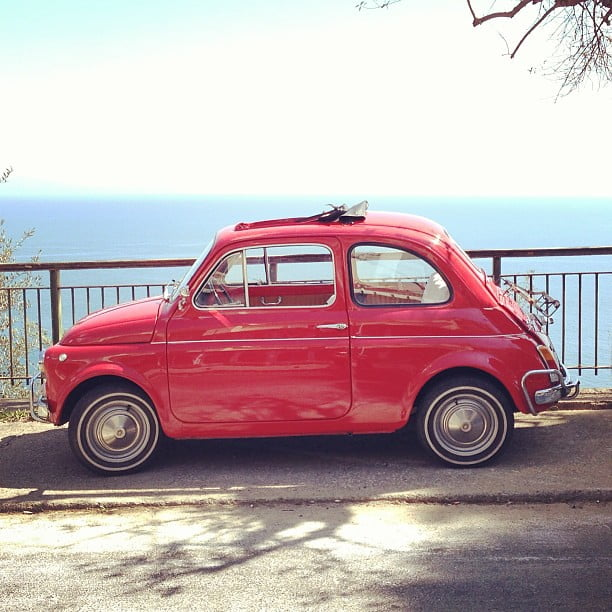 Naples to Positano by car