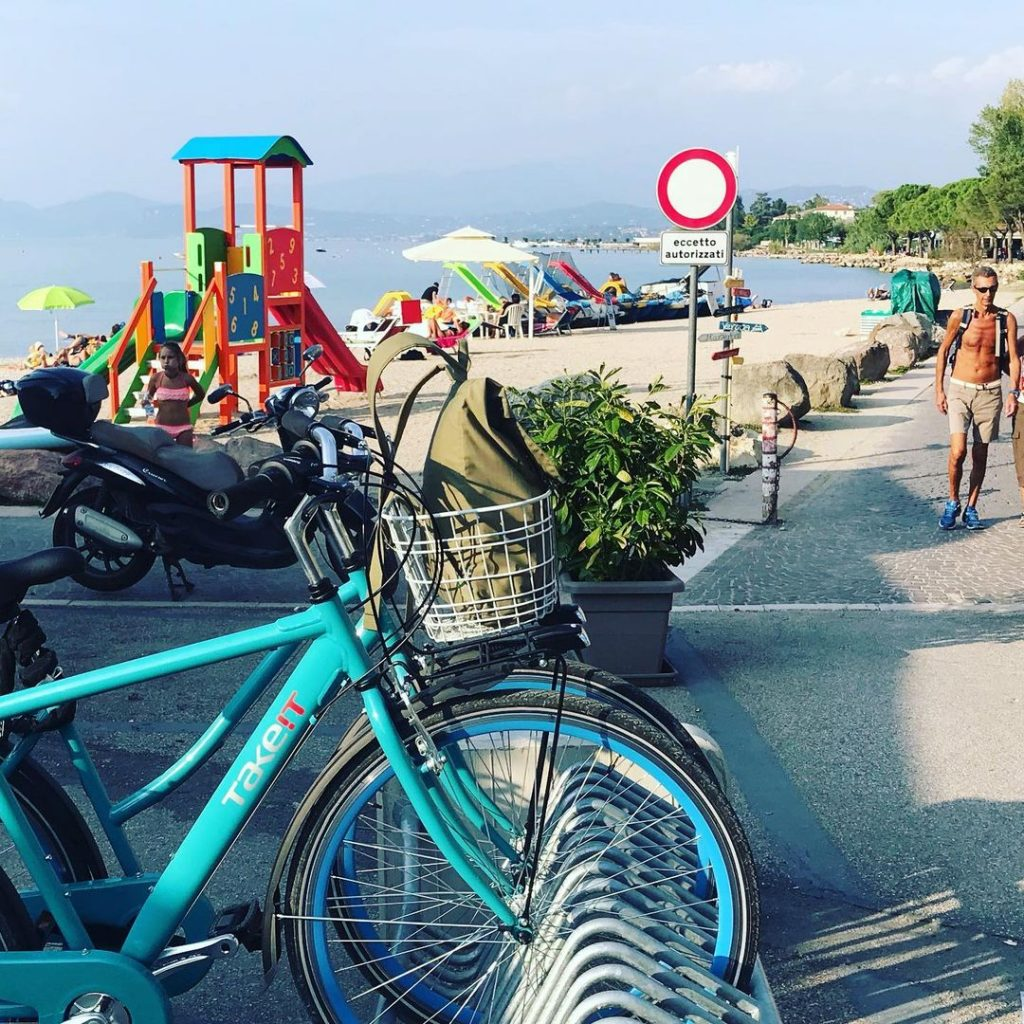 Sirmione rent a bike