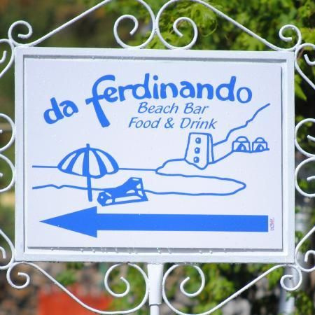 Da Ferdinando Beach Bar