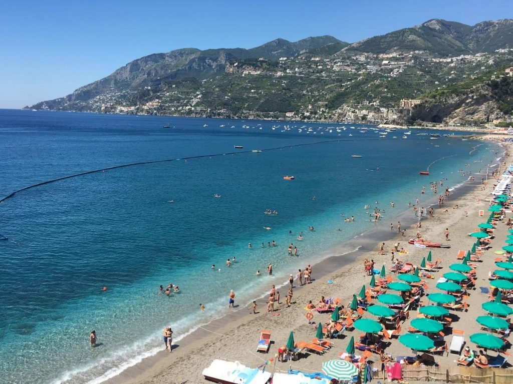 Best beaches on Amalfi Coast
