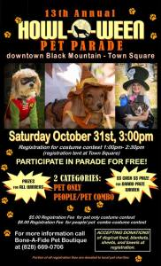 13th annual howl-o-ween pet parade