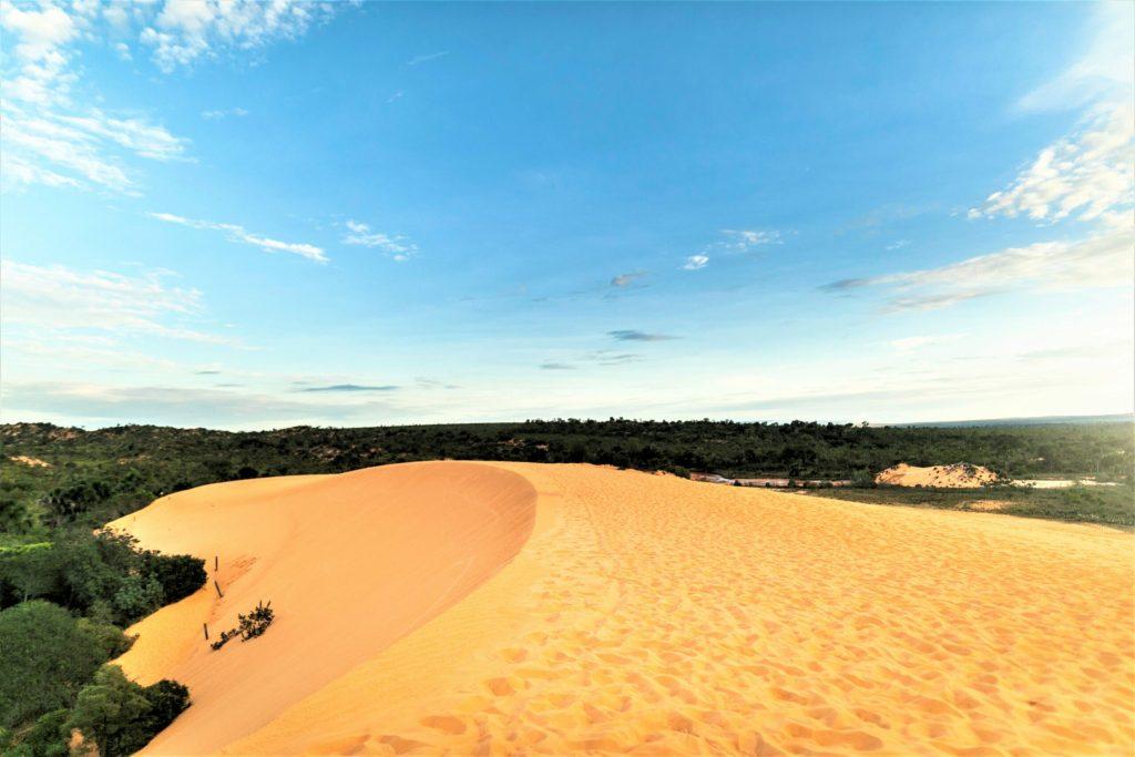 Sand dunes in Jalapão State Park, Tocantins