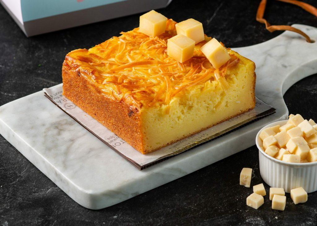 Indonesian Casava cheese cake
