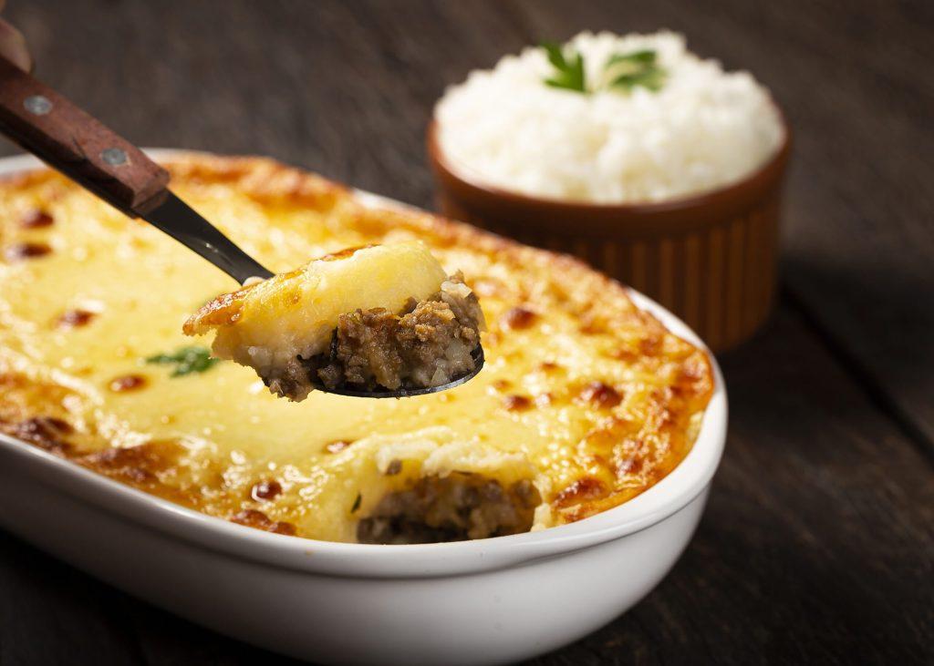 Shepherd's Pie (escondidinho). Typical Brazilian food.