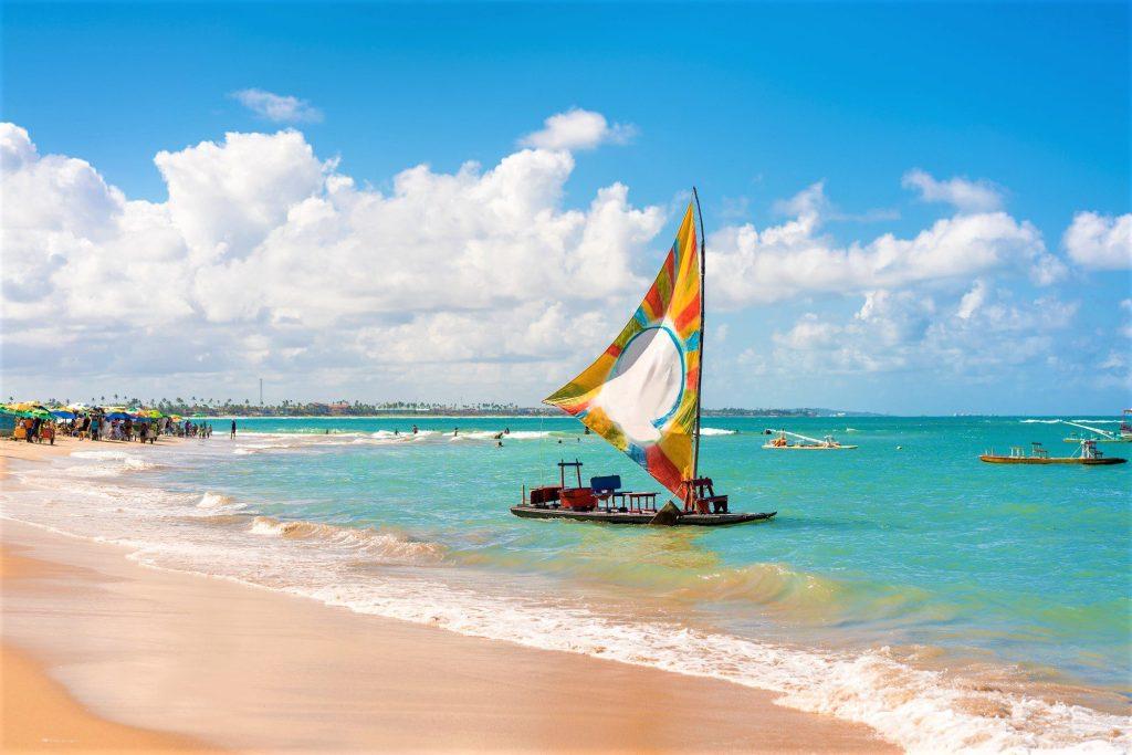Beach, Sea, Summer, Tropical Climate, Brazil