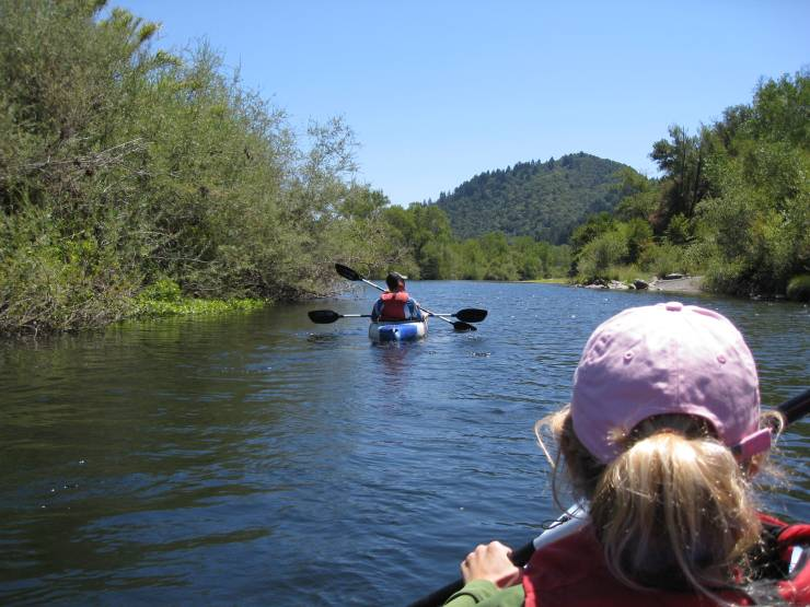 Russian River Self Guided Kayak Tour
