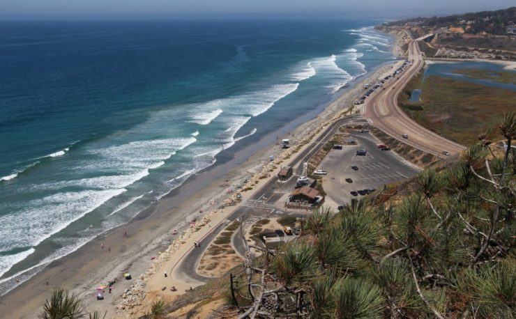 Best San Diego Cycling Routes - N Torrey-Pines-Road