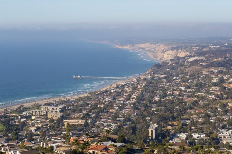 view from top of mt soledad