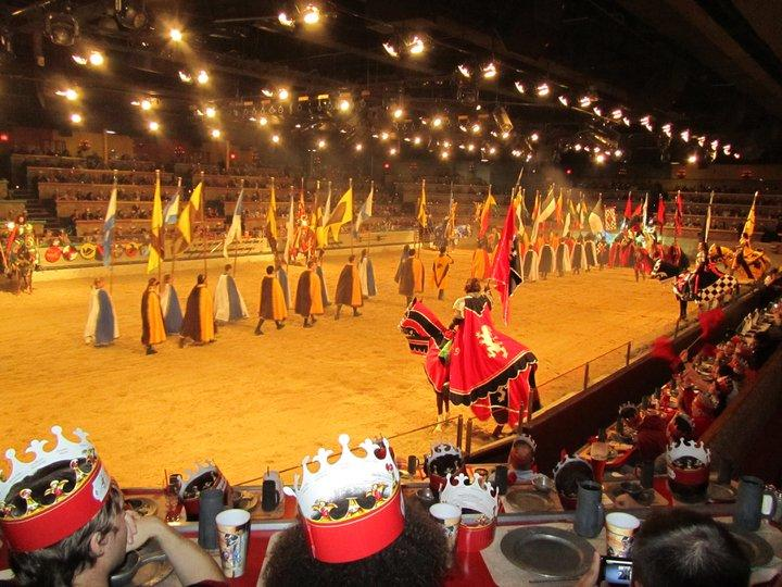 Medieval Times Anaheim itinerary