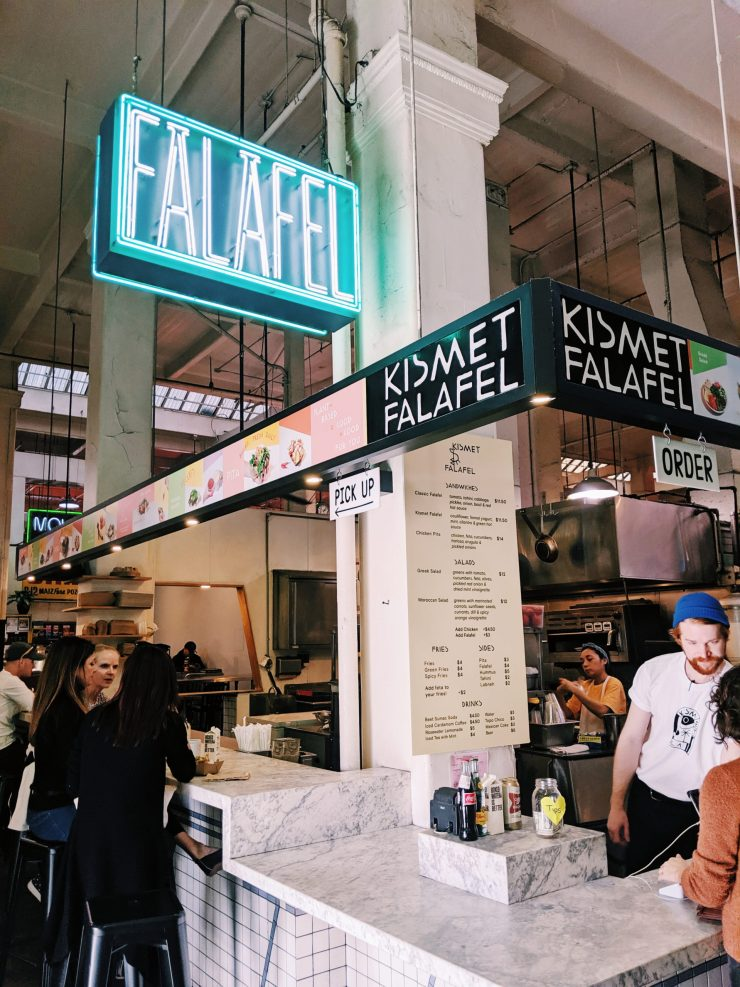 Kismet Falafel in Grand Central