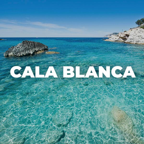 Cala Blanca, situada en costa de la calma, cerca de santa Ponça. Amazing playa in Mallorca