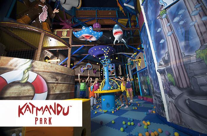 Katmandú Park, Magaluf, Calvià en familia, Calvià destino ideal para disfrutar en familia