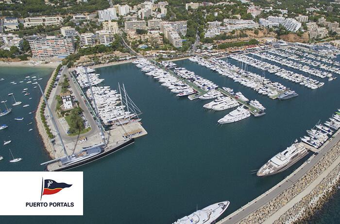 www.puertoportals.com , Puertos deportivos de Mallorca