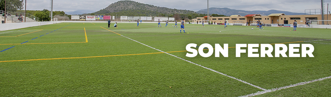 Entrenar fútbol en Mallorca. Campo de fútbol Son Ferrer. Entrenar futbol a Mallorca