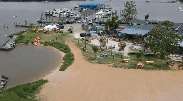 Video: Colonial Beach Boating Adventures, 35 Nautical Miles from Chesapeake Bay