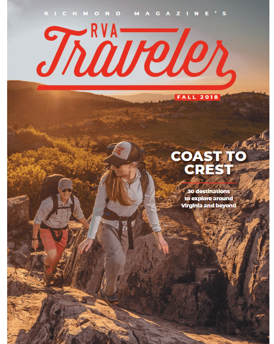 On Newsstands Now: Colonial Beach in Richmond Magazine's RVA Traveler