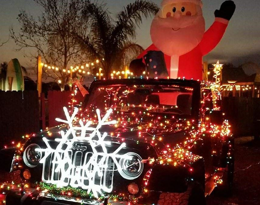 Annual Lighted Jeep Parade
