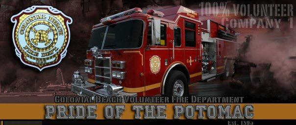 Annual Potomac River Fire/Rescue Parade
