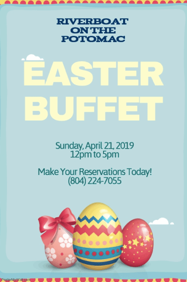 Riverboat on the Potomac Easter Buffet