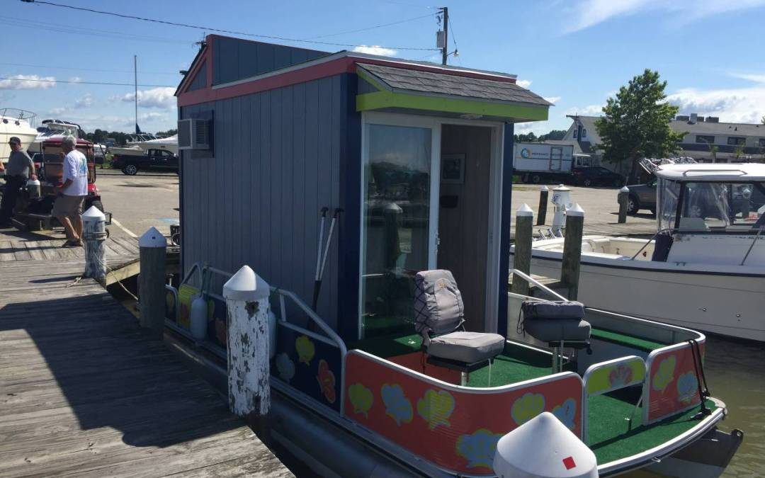 The Floating Tiny House(boat) in Colonial Beach, Virginia