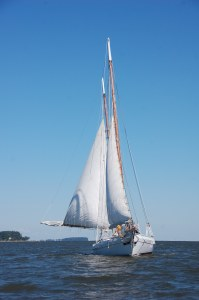 Edna Lockwood's female boat captain