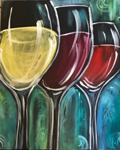 Winery Painting party