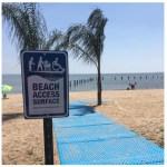 beach wheelchair access