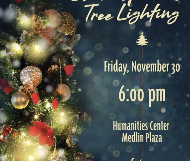 Its Beginning To Look A Lot Like Christmas Around Lee University Come Celebrate The Season As They Light Their Christmas Tree