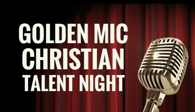 golden mic christian talent