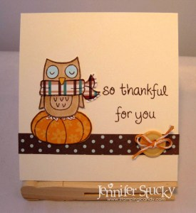 Thankful Owl 1
