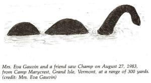 Eva Gauvin Champ sighting drawing
