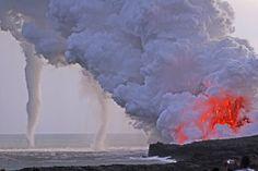 HawaiiVolcanoInducedWaterSpout