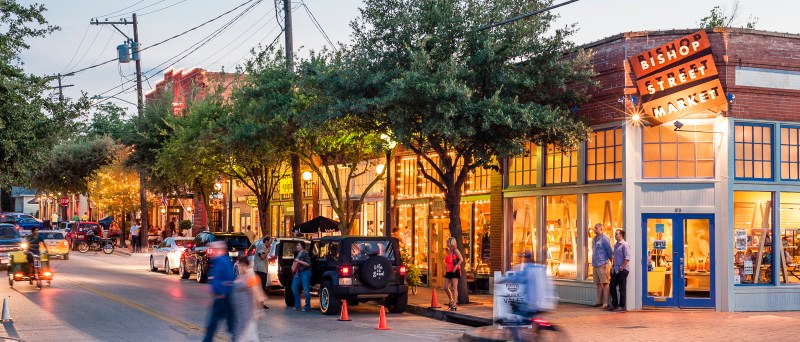 Bishop Restaurants Arts Dallas District