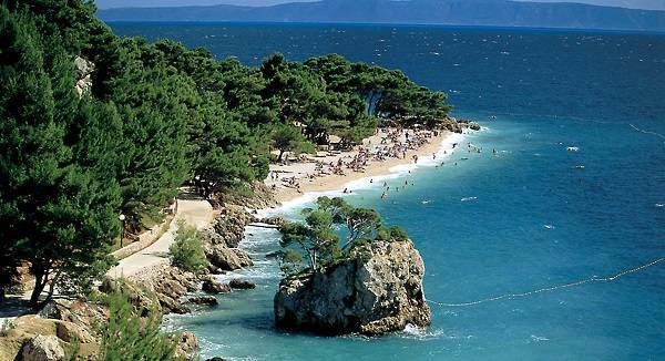 ber Brela Dalmatien Kroatien