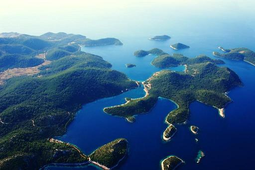 Beautiful Nature of Dubrovnik Dalmatia Croatia